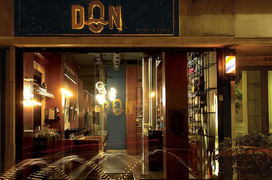 Barber shop Don στο Κολωνάκι